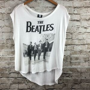 The Beatles graphic tank top